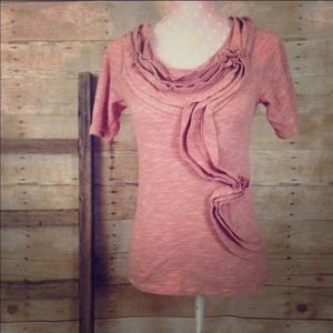 Pilcro and the Letterpress Anthropologie ruffle t